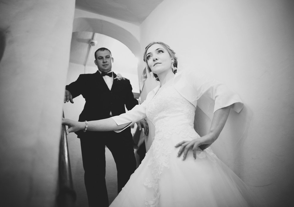 Reportaż ślubny w Dworku w Żarnowcu