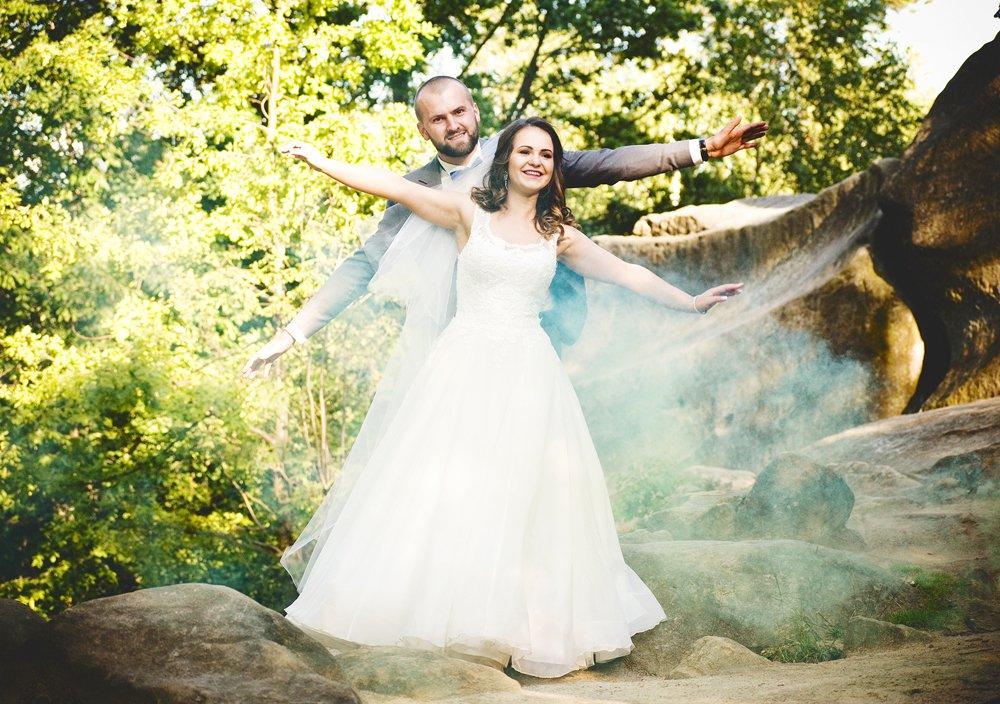 Sesja ślubna Rezerwat Prządki