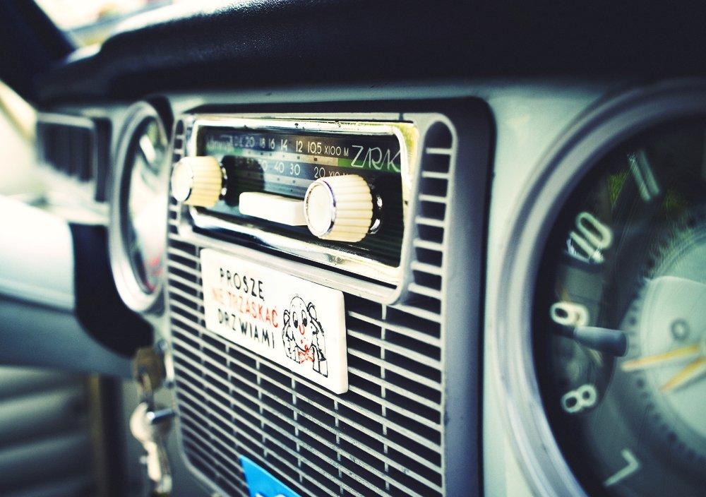 Wnętrze samochodu Warszawa